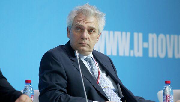 Игорь Агамирзян, генеральный директор и председатель правления ОАО РВК, на томском форуме молодых ученых U-NOVUS