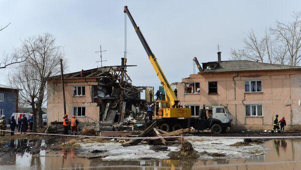 Взрыв бытового газа в жилом доме в Омской области. Архивное фото
