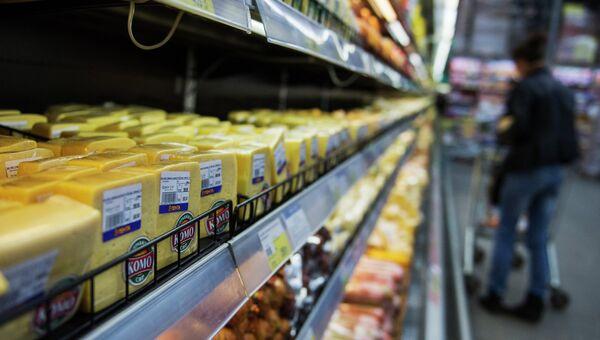 Продажа украинской молочной продукции в регионах России