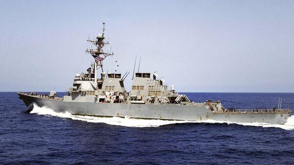Эсминец ВМС США Donald Cook. Архивное фото