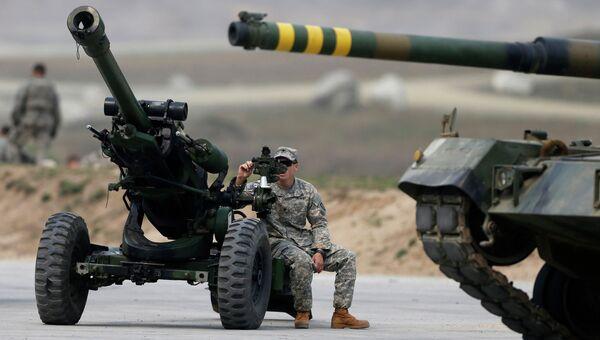 Американский военный. Архивное фото