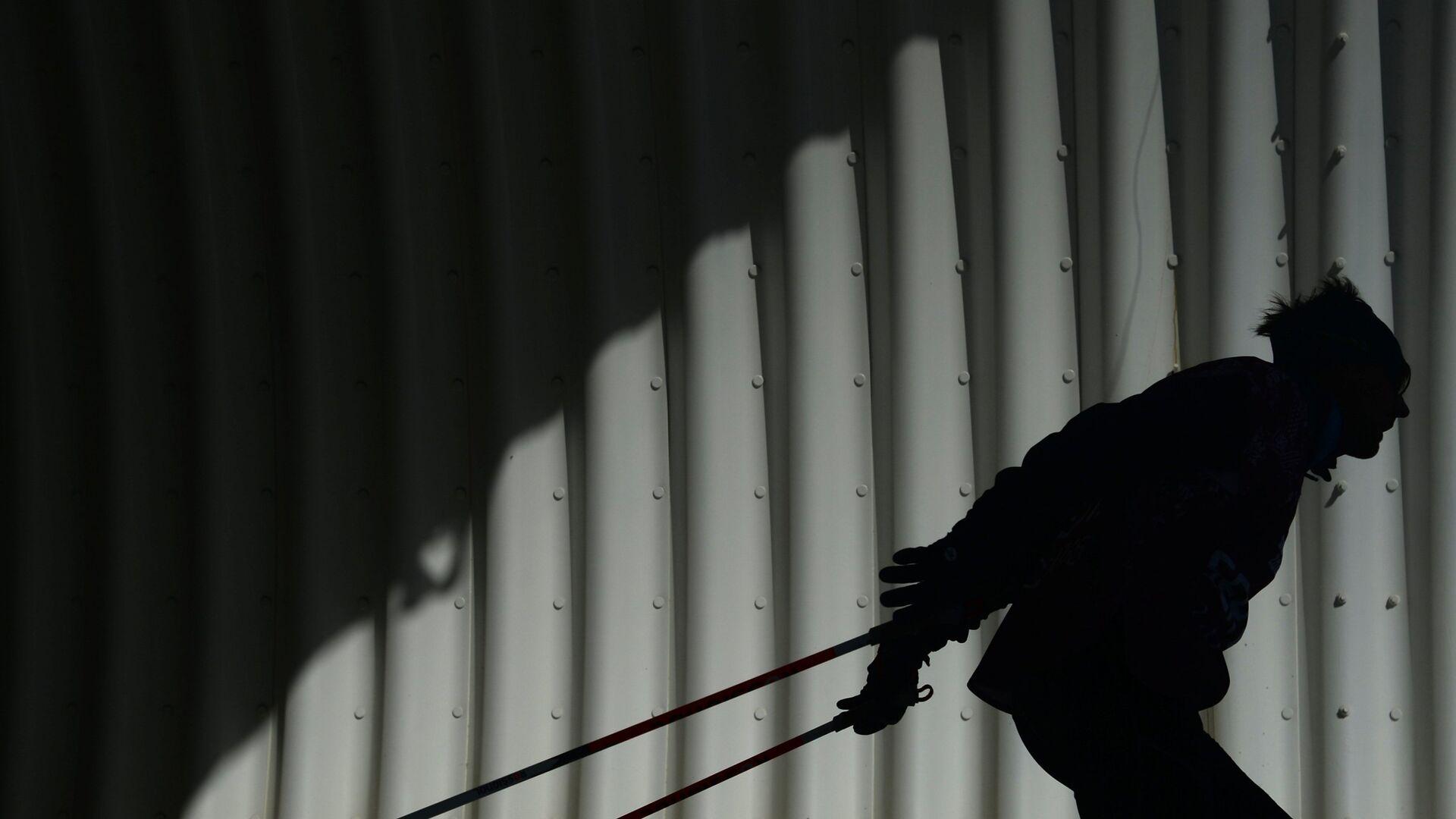 Олимпиада 2014. Лыжные гонки. Тренировки - РИА Новости, 1920, 26.04.2021