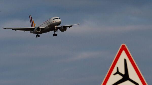 Самолет аэробус А-319-100 авиакомпании German Wings
