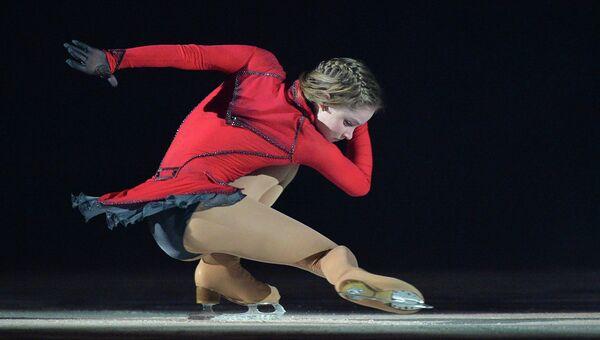 Олимпийская чемпионка по фигурному катанию Юлия Липницкая, архивное фото