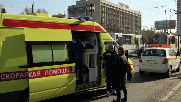 ДТП в Санкт-Петербурге на площади Конституции