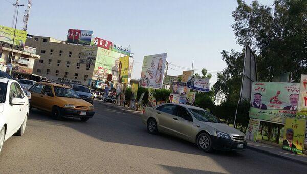 Улицы Багдада. Архивное фото