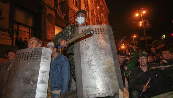 Беспорядки в Киеве. 29 апреля 2014