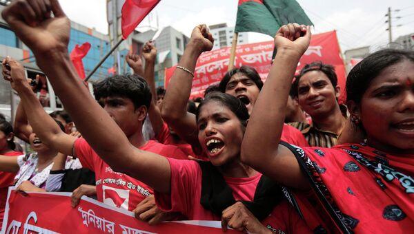 Митинг в Бангладеш. Архивное фото