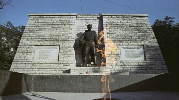 Памятник советским воинам-освободителям Таллина. Архивное фото