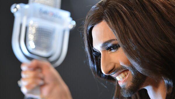 Кончита Вурст - победитель международного конкурса песни Евровидение-2014. Архивное фото