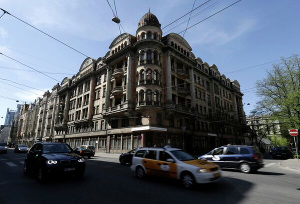 Здание музея КГБ в Риге