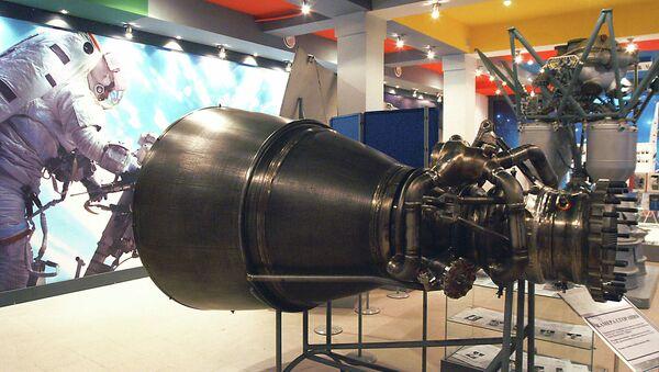 Камера сгорания ракетного двигателя РД-180