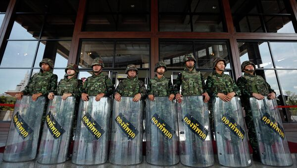 Ситуация в Бангкоке. 21 мая 2014