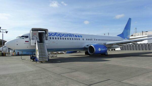 Самолет Boeing 737-800NG авиакомпании Добролет. Архивное фото