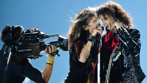 Концерт Aerosmith. Архивное фото