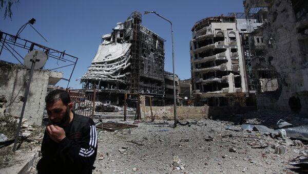 Сирийский город Хомс. Архивное фото