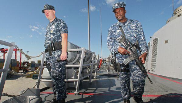 Фрегат ВМС США Карр совершил деловой заход в Балтийск
