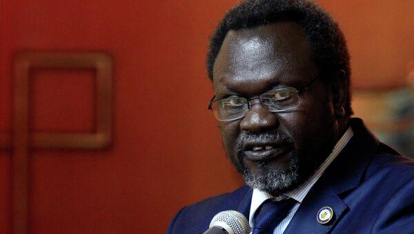 Лидер повстанцев Южного Судана Риек Машар. Архивное фото