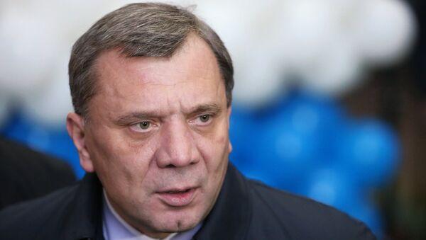 Заместитель министра оброны РФ Юрий Борисов. Архивное фото