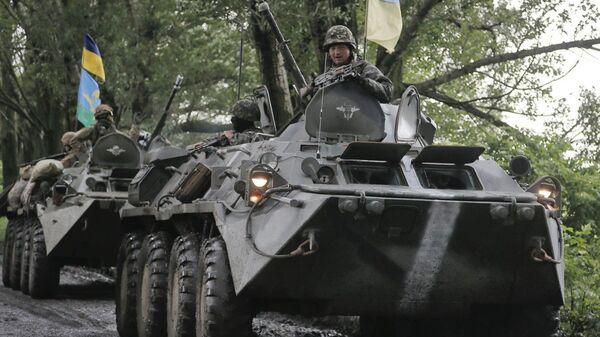 Бронетехника украинской армии