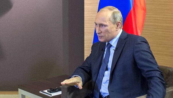Интервью Владимира Путина французским СМИ