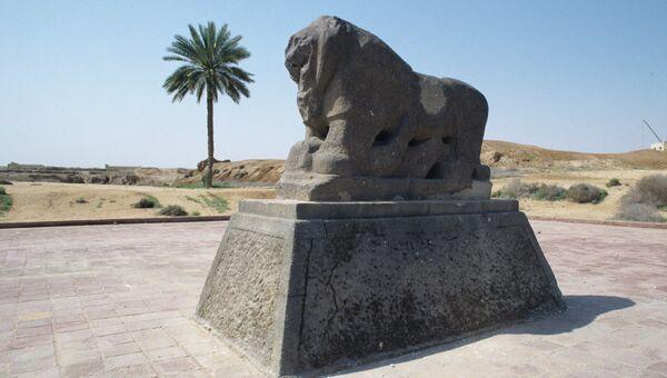 Скульптура льва, Вавилон