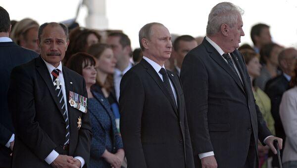В.Путин во Франции