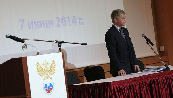 Президент Российского футбольного союза (РФС) Николай Толстых. Архивное фото