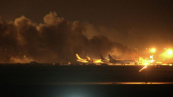 Нападение на аэропорт в Карачи, Пакистан. Архивное фото