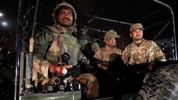 Военнослужащие армии Пакистана