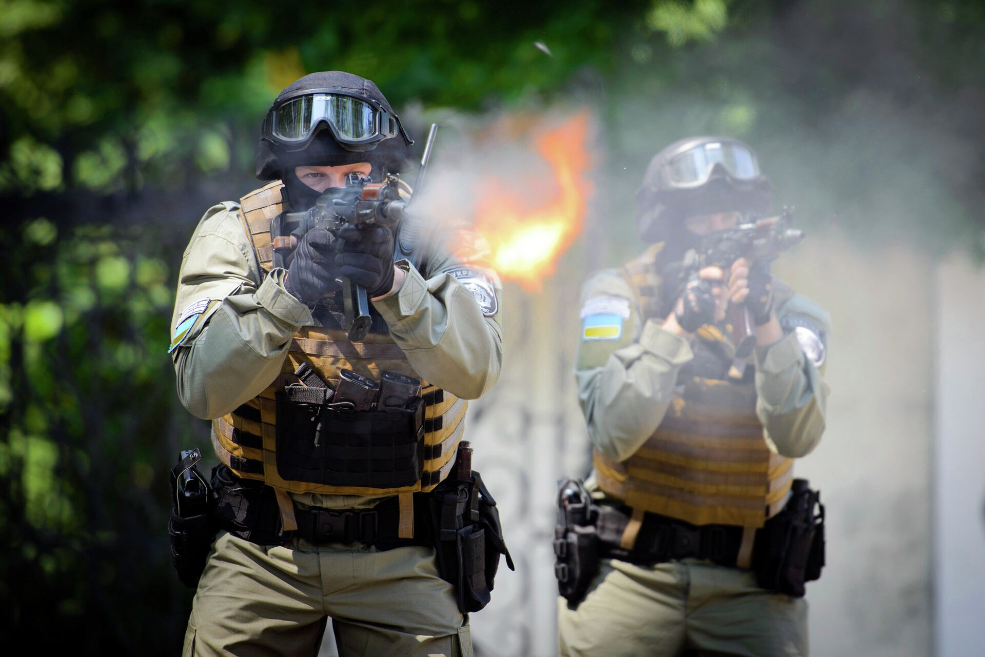 Украинский спецназ - РИА Новости, 1920, 04.06.2021