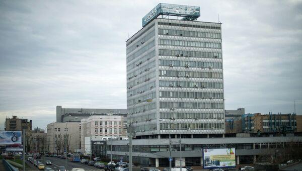 Вид на здание завода имени И.А. Лихачева в Москве. Архивное фото