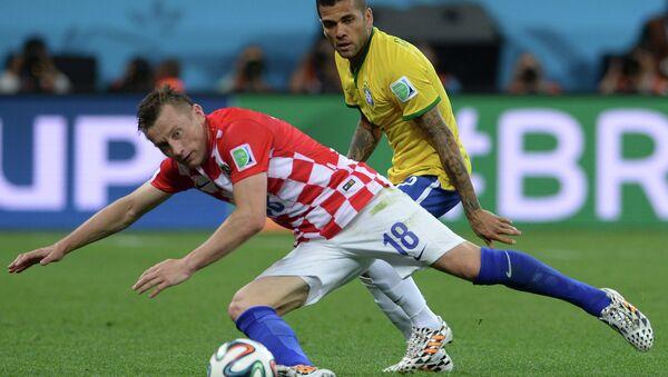 Футбол. Чемпионат мира - 2014. Матч Бразилия - Хорватия, Архивное фото