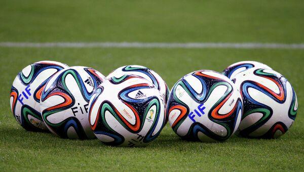 Футбольные мячи на ЧМ по футболу в Бразилии