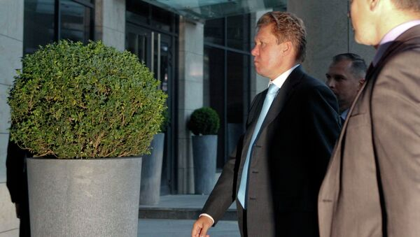 Алексей Миллер на экстренных переговорах по газу в Киеве 14 июня 2014
