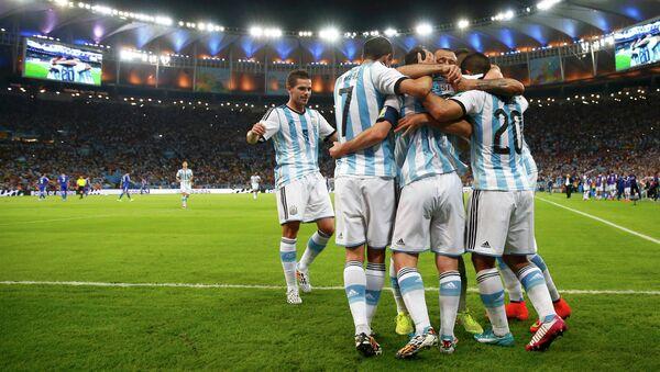 Игроки сборной Аргентины. Архивное фото