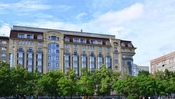 Пятизвездочный отель сети Marriott в Новосибирске