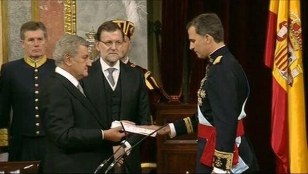 Присяга Фелипе VI и военный парад: новый король Испании взошел на трон