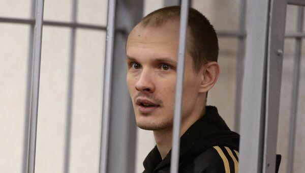 Блогер Василий Федорович в Свердловском областном суде. Архивное фото