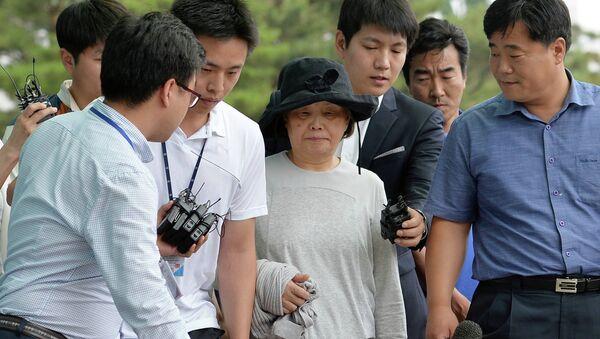 Арестованная супруга владельца парома Севол, 21 июня 2014