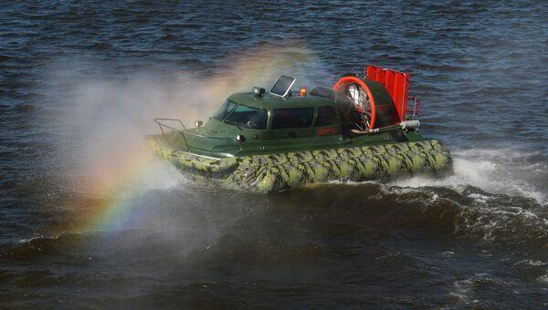 Показ образцов водных транспортных средств