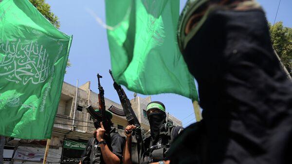Члены движения Хамас, архивное фото