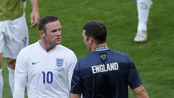 Матч сборной Коста-Рики и Англии на Чемпионате мира по футболу 2014