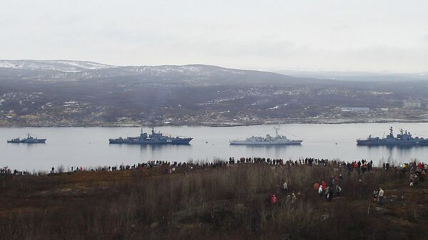 Корабли Северного флота РФ