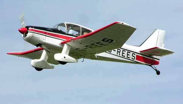 Самодельный самолет типа Jodel. Архивное фото