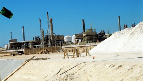Нефтехимический комплекс в городе Эль-Брега