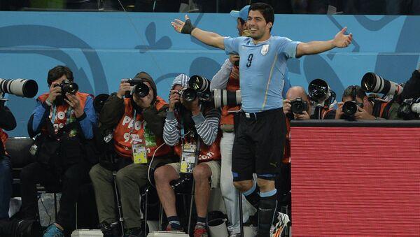 Игрок сборной Уругвая Луис Суарес. Архивное фото