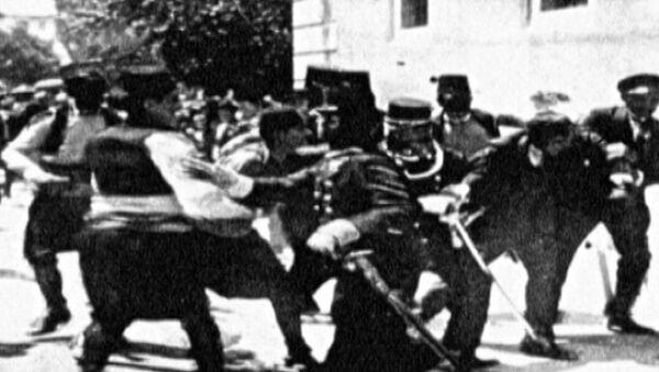 Убийство эрцгерцога Фердинанда и Первая мировая война. Архивные кадры