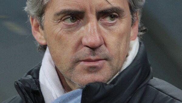 Роберто Манчини. Архивное фото