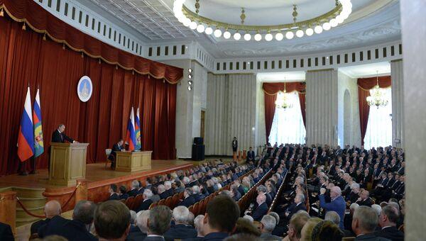 В.Путин на совещании послов и постоянных представителей РФ